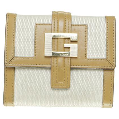 Gucci Portemonnaie mit Logoschließe