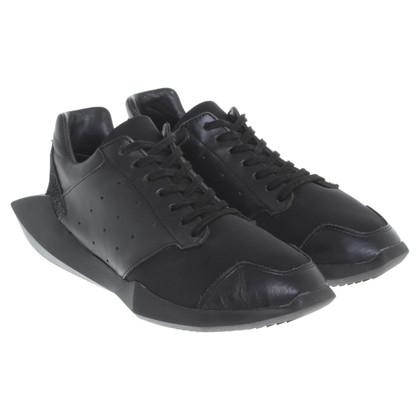 Rick Owens Sneakers in zwart