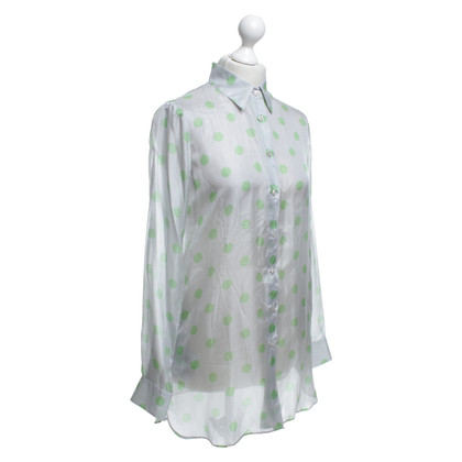 Armani Blouse in tweekleurig