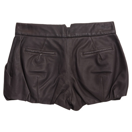 Louis Vuitton trousers made of leather