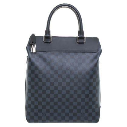 "Louis Vuitton ""Greenwich Tote Damier Cobalt Canvas"""
