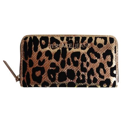 Versace Portemonnee Versace Leopard fluweel nieuwe