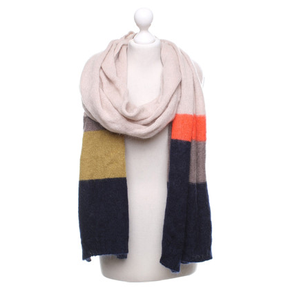 See by Chloé Scarf with graphic knitting pattern