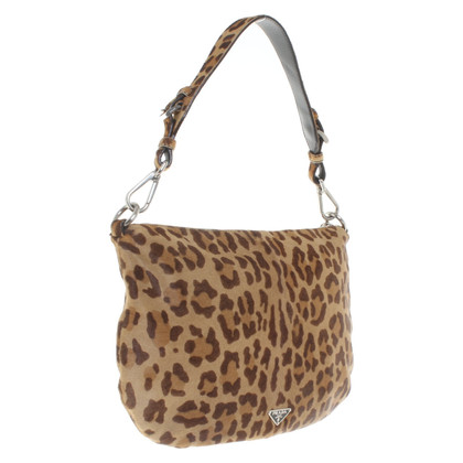 Prada Shoulder bag with leopard pattern
