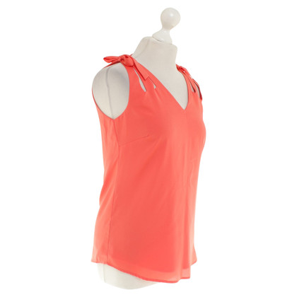Reiss Top in Orange-Rot