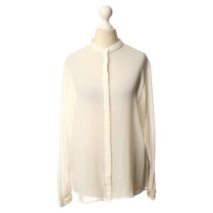Lala Berlin Silk blouse in white