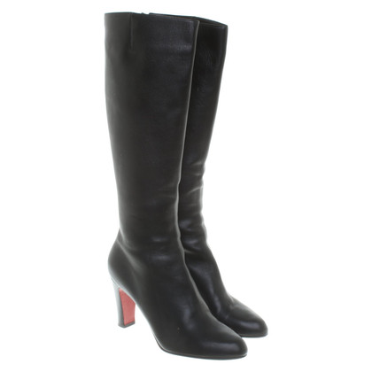 Christian Louboutin Leather boots in black