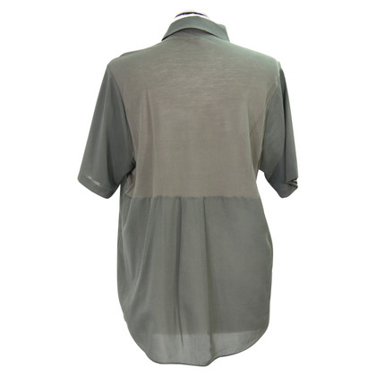 French Connection Blouse in dark green