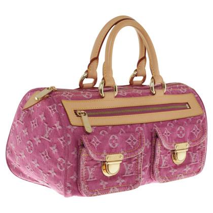 "Louis Vuitton Handbag ""Neo Speedy Denim Fuchsia"""