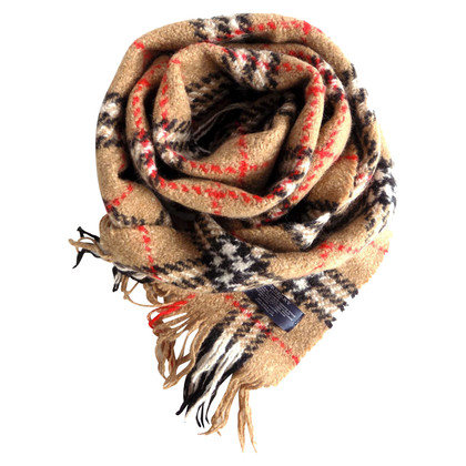 Burberry Sciarpa in misto lana merino e angora