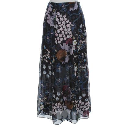 Schumacher skirt with floral pattern