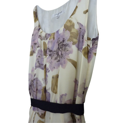 L.K. Bennett zijden jurk patroon