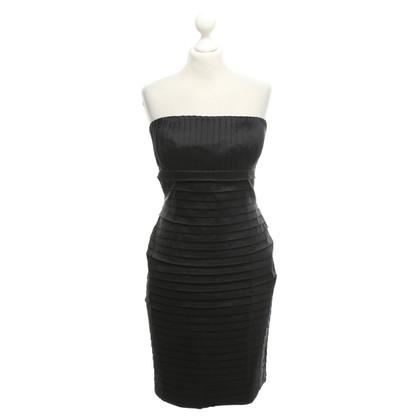 Calvin Klein Strapless jurk met plooien