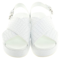 Max Mara Sandals in white