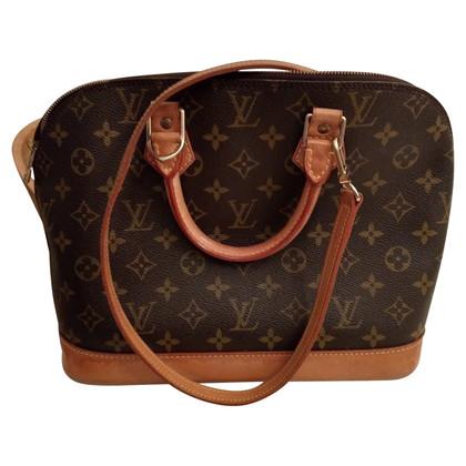 """Louis Vuitton """"Alma Monogram Canvas"""" with shoulder strap"""