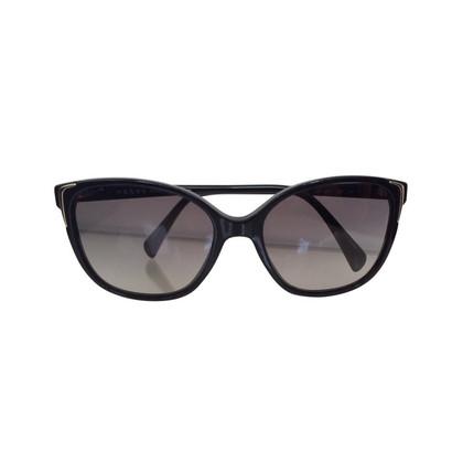 Prada Sunglasses plastic black