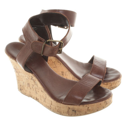 Strenesse Blue Wedges in Brown