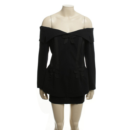 Rena Lange Jacket with bandeau neckline