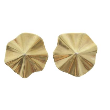 Cada Placcato oro orecchini in argento