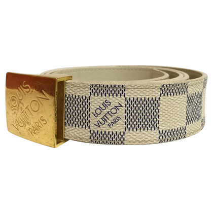 Louis Vuitton Belt Damier Azur Canvas