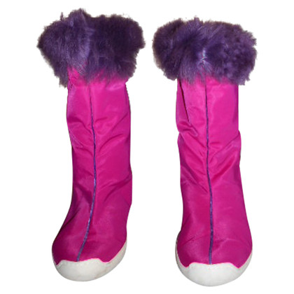 Malo Gefütterte Stiefel in Pink