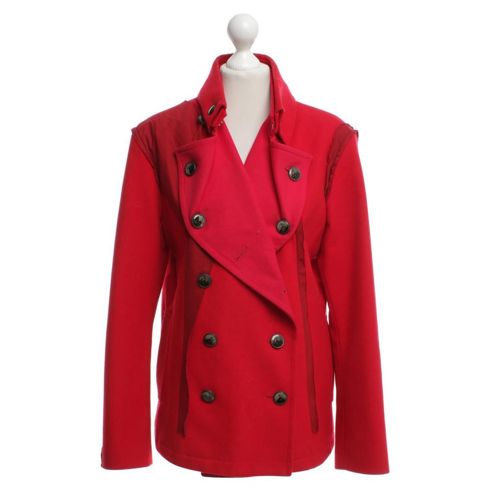 Issey Miyake Short coat in red - Buy Second hand Issey Miyake ...