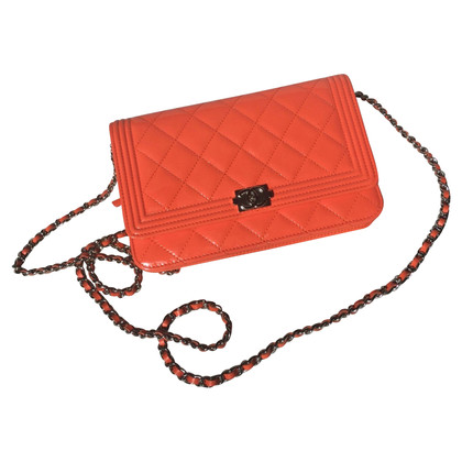Chanel Flapbag in Orange