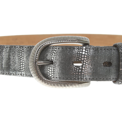 Fausto Colato Belt with pattern