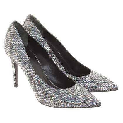 Talbot Runhof pumps in zilver