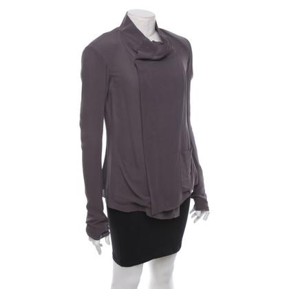 Rick Owens Blouse jacket in grey-brown