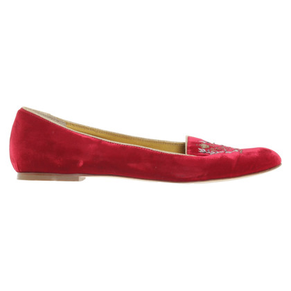 Dolce & Gabbana Slipper aus Samt