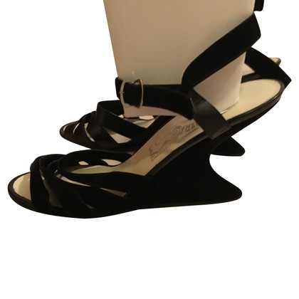 Salvatore Ferragamo Sandals with wedge heel