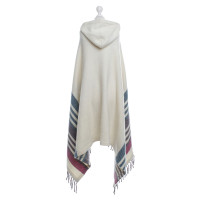 Emilio Pucci Hooded cape in cream