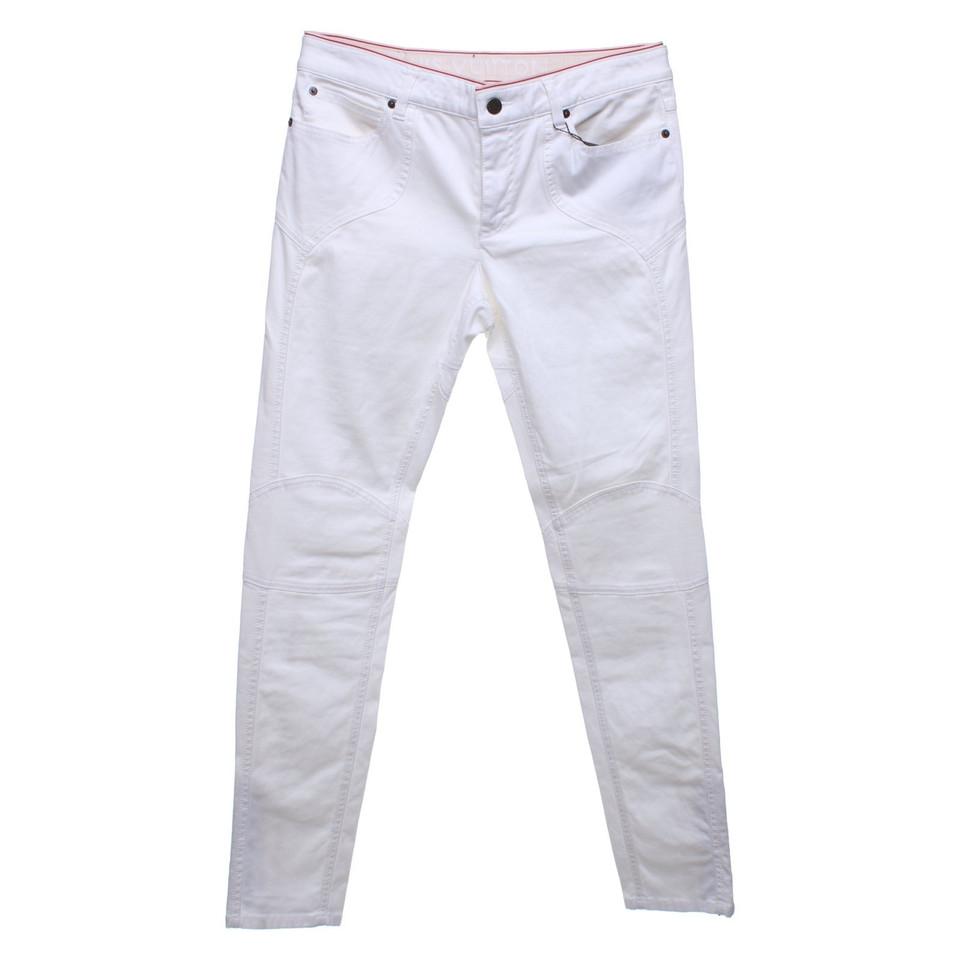 Louis Vuitton Jeans en blanc