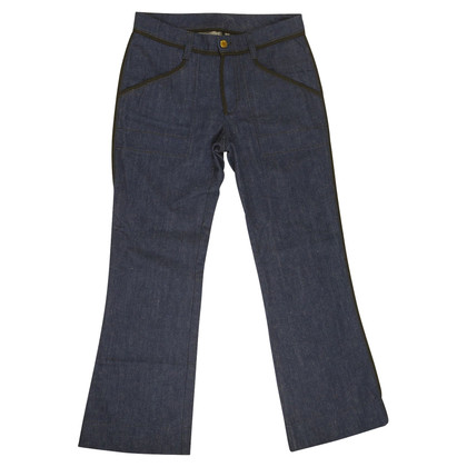 Louis Vuitton blue jeans