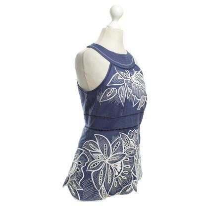 Karen Millen top with embroidery