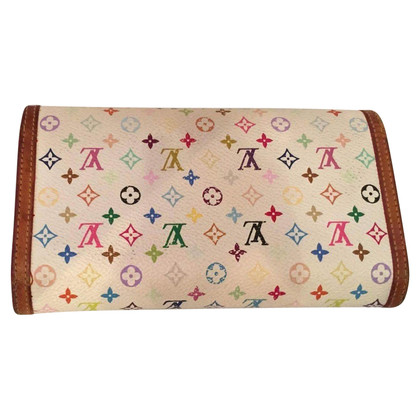 Louis Vuitton Portemonnaie aus Monogram Multicolore Canvas