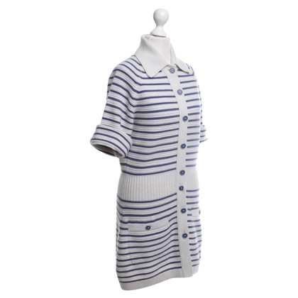 Chanel Cashmere dress in grey / blue