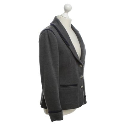 Chanel Blazer in grey / blue