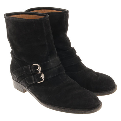 Gucci Suede ankle boots