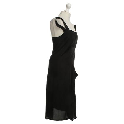 Yohji Yamamoto Kleid in Schwarz
