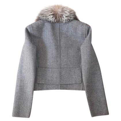 Christian Dior Jacket with fur collar