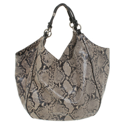 Armani Handtas in reptielen lederlook