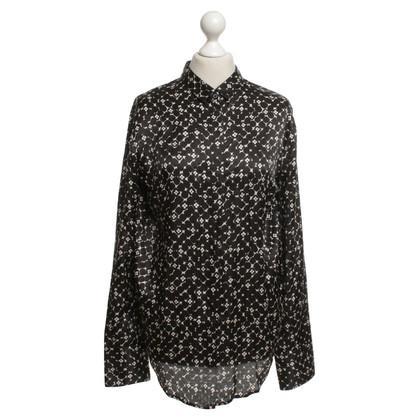 Altre marche 0039 Italia - camicia con un motivo floreale