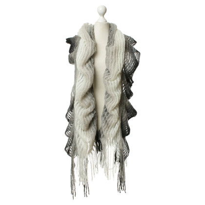 Missoni Scarf in grey, black and white