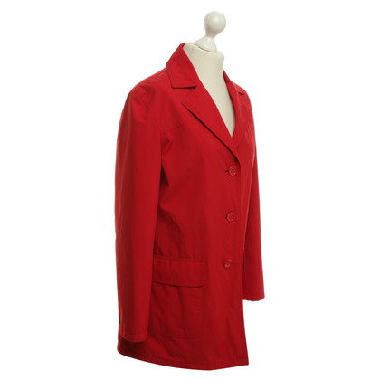 Escada Coat in red