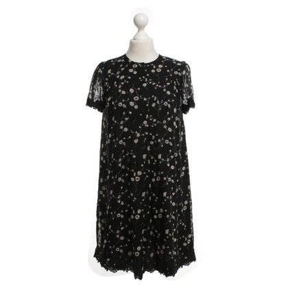 Anna Sui Blouse dress with floral pattern