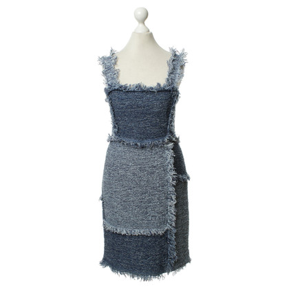 Missoni Web dress in blue