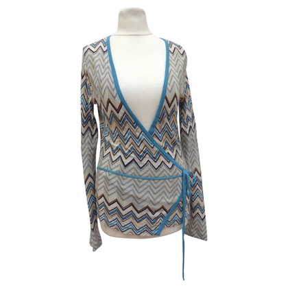 Missoni Wrap jacket knitted fabric