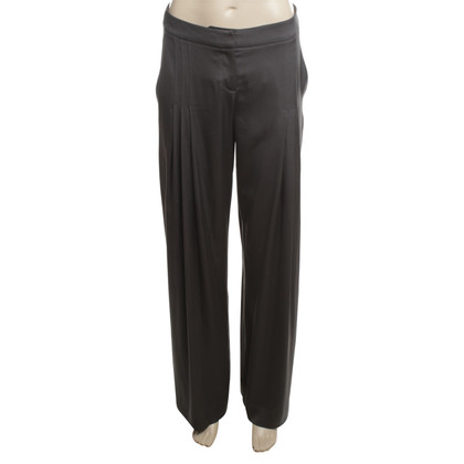Jasmine di Milo Silk pants in anthracite